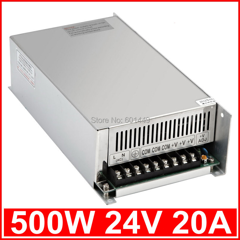 Factory direct> Electrical Equipment & Supplies> Power Supplies> Switching Power Supply> S single output series>S-500W-24V