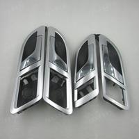 A Set 4PCS for 08 12 VW Lavida /Skoda Superb 01 08 inner door handle inside handle internal wrench open the door wrench