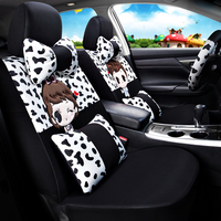 Car Seat Cover Car Seat Covers Accessories Interior Cute Cartoon For Buick Excelle Xt Lacrosse Regal