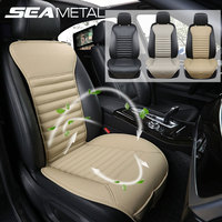 Car Seat Covers PU Leather Seat Cushion Protector Waterproof Breathable Front Chair Protection Pad Decoration Auto Accessories