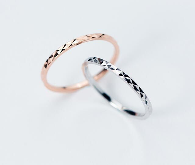 So Thin 1mm 1pc Fashion REAL.925 Sterling Silver fINE jEWELRY Carved Engraved Starry Sky Ring Finger Knuckle Ring GTLJ1327