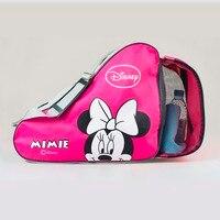 HOT Sell 2016 NEW Kids Adult Cute Cartoon Roller Skate Bag Portable Carry Bag Shoulder Bag