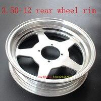 12 inch Monkey Bike Rim 2.75 12 3.50 12 front or rear wheel hub for DAX and Monkey motorcycle Modified aluminum alloy rim felly