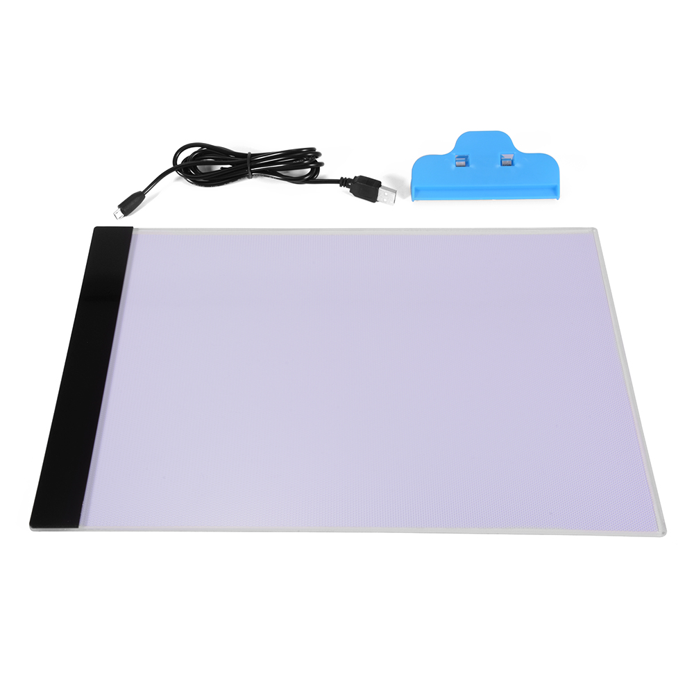 Table lamp for drawing - A4 Led Artist Thin Art Stencil Drawing Board Light Box Tracing Table Pad Ah210 China