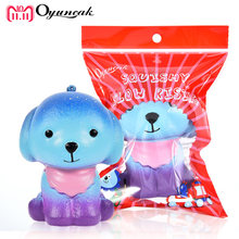 Oyuncak Jumbo Squishy Dog Antistress Entertainment Squish Novelty Gag Toys For Girls Stress Relief Anti Stress Surprise Animals(China)