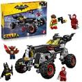 Лепин 07045 Super Heroes Бэтмен Бэтмобиль строительные Блоки новогодний Подарок Игрушки для детей Decool Бела 70905