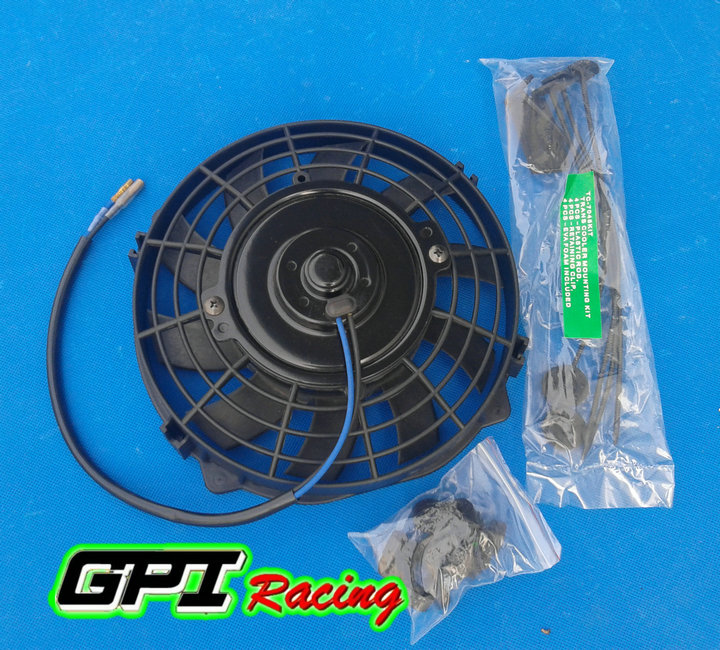 """7/"""" inch Universal Electric Radiator RACING COOLING Fan m/&ounting kit"""