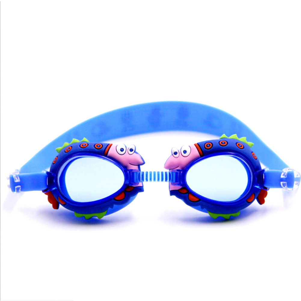 1 pcs Cartoon Swimming Glasses Kids Boys Girls Outdoor Anti Fog Waterproof swimming goggles Summer swimming pool