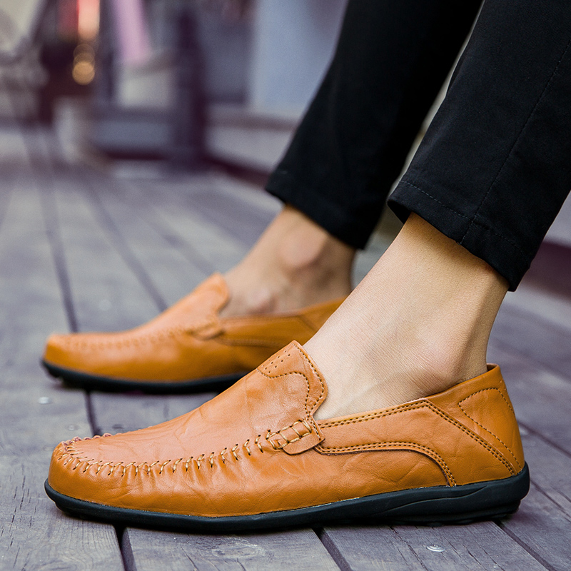 HTB1DFBbkpuWBuNjSszbq6AS7FXaC JKPUDUN Italian Mens Shoes Casual Luxury Brand Summer Men Loafers Genuine Leather Moccasins Comfy Breathable Slip On Boat Shoes