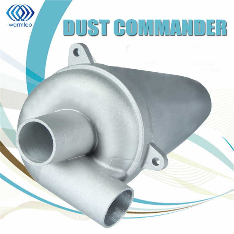 SN25T5 Aluminium Alloy Cyclone Dust Collector Filter Separator Collector Vacuums Cleaner Filter Home Industrial Duct Collector 1pc industrial cyclone filter dust collector cnc machining woodworking tool parts for vacuums dust extractor separator mayitr
