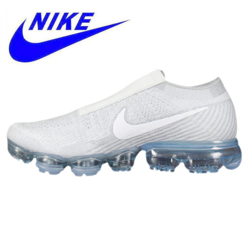 finest selection 04544 2979f US $132.09 49% OFF|Aliexpress.com : Buy Breathable Non slip Nike Air  Vapormax Flyknit Men's and Women's Running Shoes , White, Wear resistant  Damping ...