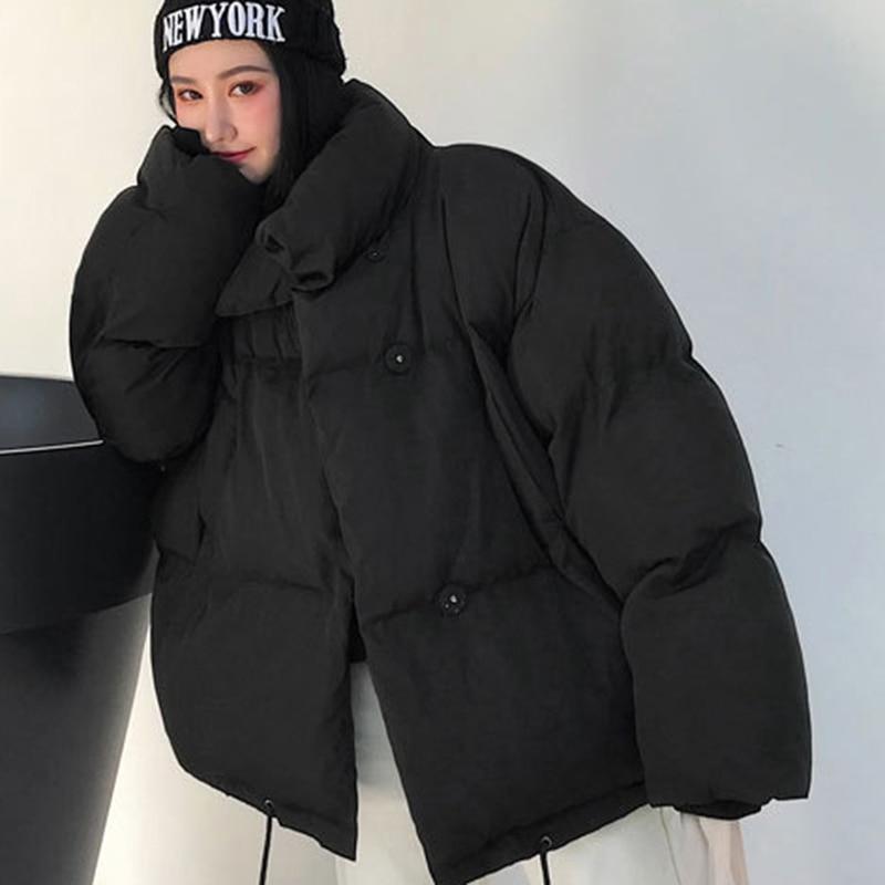 2018 Herbst Winter Frauen Jacke Mantel Mode Weibliche Stehen Winter Jacke Frauen Parka Warme Casual Plus Größe Mäntel