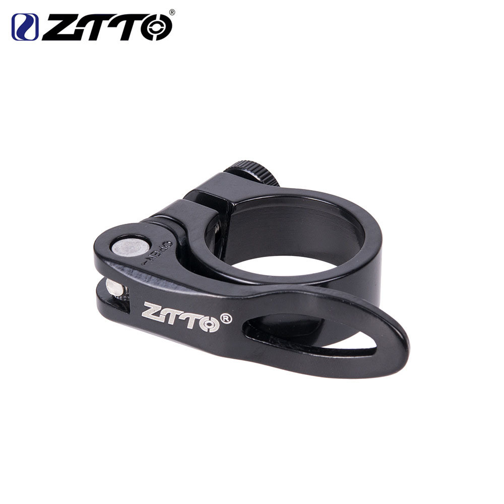 ZTTO MTB Road Bike Bicycle Seatpost Clamp 34.9mm Cycling Seat Post Tube Clip NEW