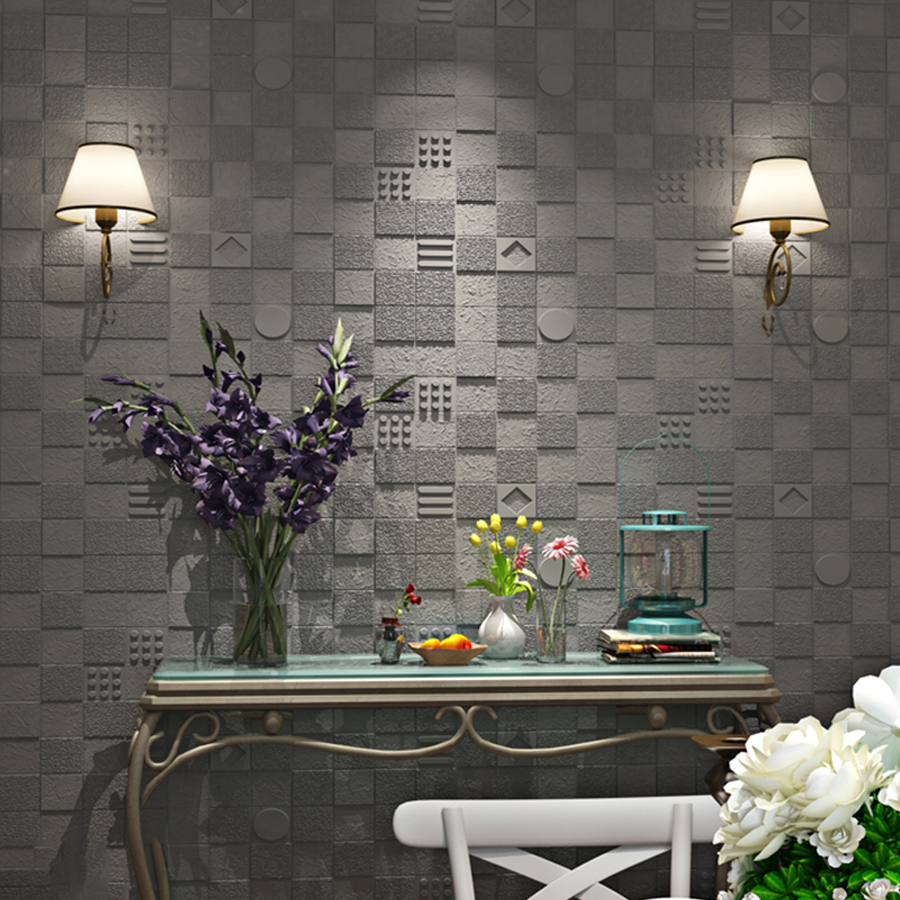 2019 Most Popular Self adhesive 3D Wallpaper for Living Room Creative Waterproof Contact Papers Beautiful Room Decoration Mural