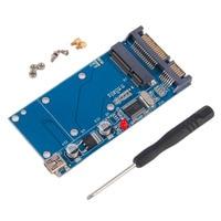 High Capacity High Power Serial MSATA To SATA MINI USB Adapter Converter Card