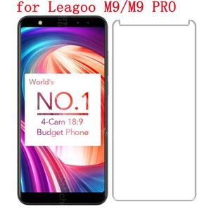 LEAGOO M9 100% Boa Qualidade Premium 9 H Tela de Vidro Temperado Protector Film para LEAGOO M9 + enchimento de líquido