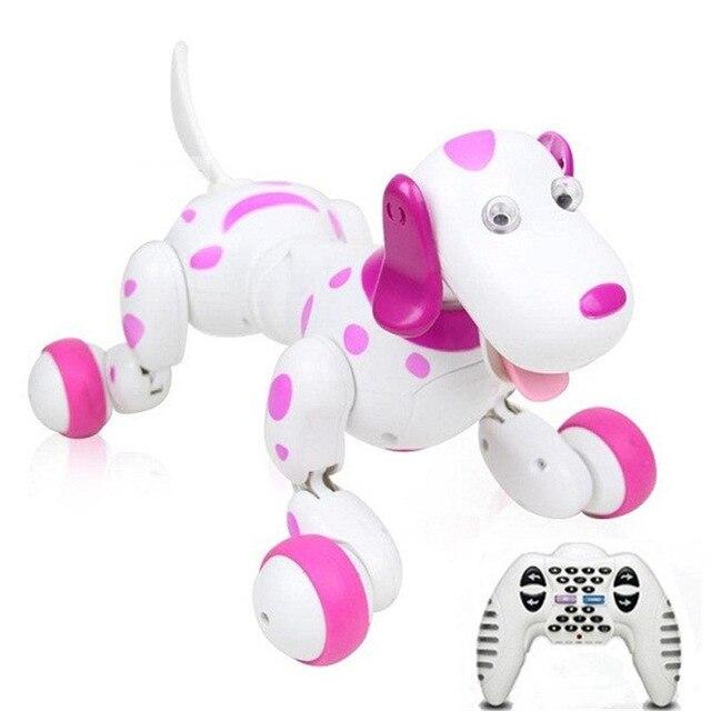 Fernbedienung tier spielzeug RC Roboter Smart Hund 777 338S RC Simulation Hund Multi Funktion Spielzeug hund sound bewegen geschenk VS TT320 dinosaurier - 2