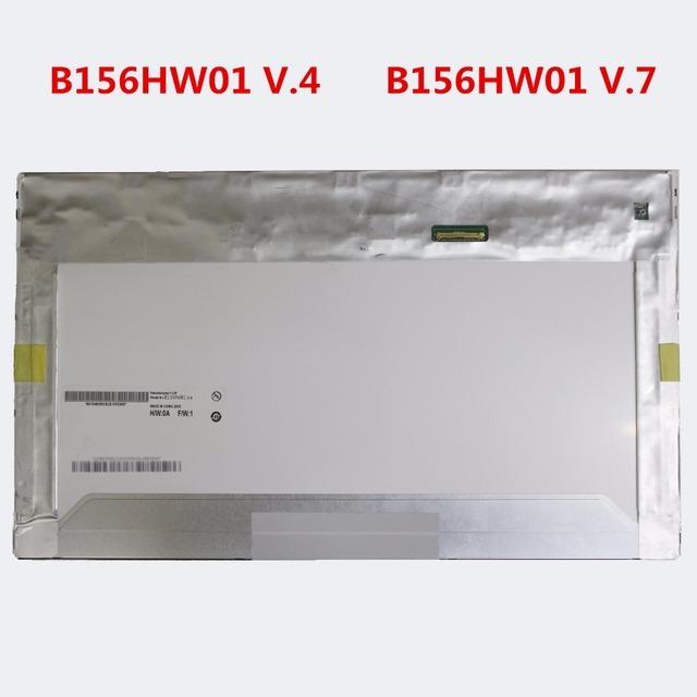 Pantalla del ordenador portátil led para lenovo w510 w520 w530 e530 y500 y580 K590s k580 k580P B156HW01 V.0 V.4 V.6 V.7 LP156WF1 TLA1 B1 15% de DESCUENTO
