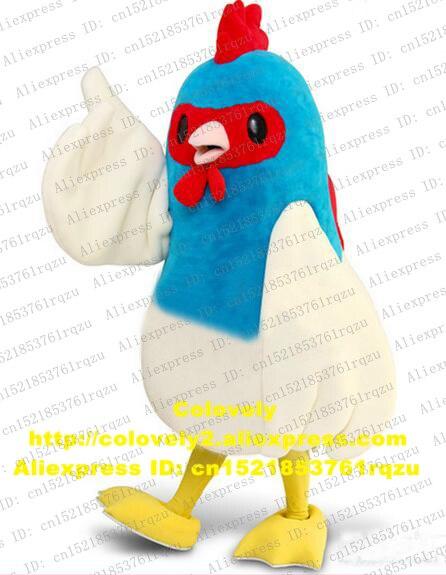 Cock Hahn Henne Huhn Chook Türkei Fasan Maskottchen Kostüm Cartoon Charakter Expo Fair Motexha Spoga Jahrestag Zz5274 StäRkung Von Sehnen Und Knochen