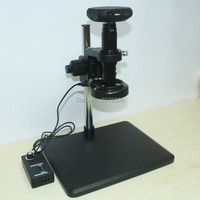 HDMI 1080P 60fps Microscope Multifunction Camera + 10X 200X Lens + Adjustable LED Light + Mobile Phone Repair Stand holder