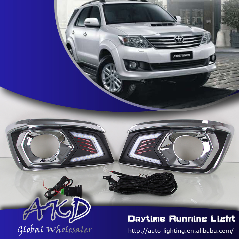 One Stop Shopping for Toyota Fortuner LED DRL 2012 Fortuner DRL Daytime Running Light Signal Car Fog L& Automotive Accessories-in Car Light Assembly from ... & One Stop Shopping for Toyota Fortuner LED DRL 2012 Fortuner DRL ... azcodes.com
