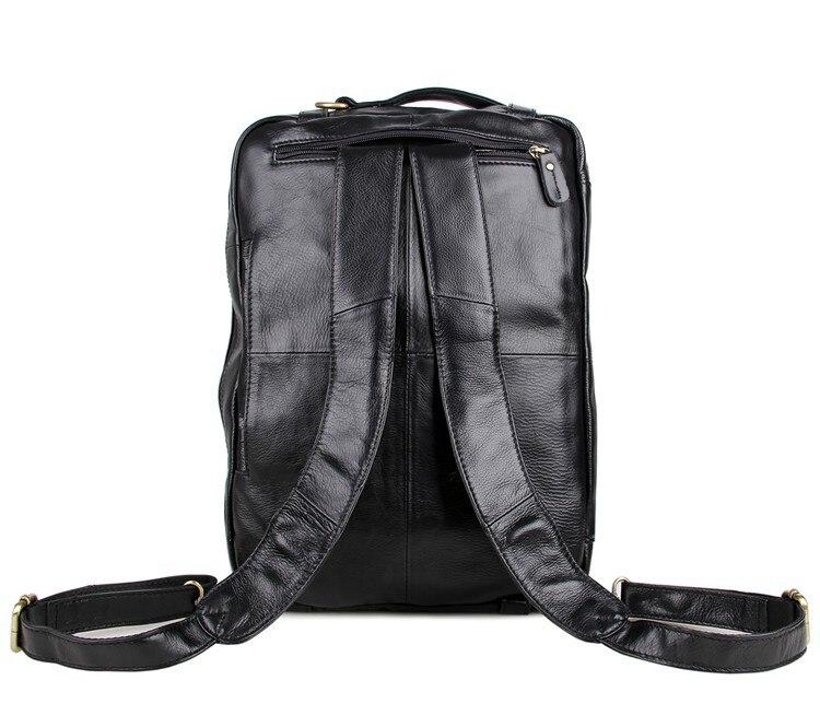 Grande taille en cuir véritable hommes d'affaires voyage Messenger sacs en cuir sacs à main pour hommes mode bureau Documents Pack sacs - 4