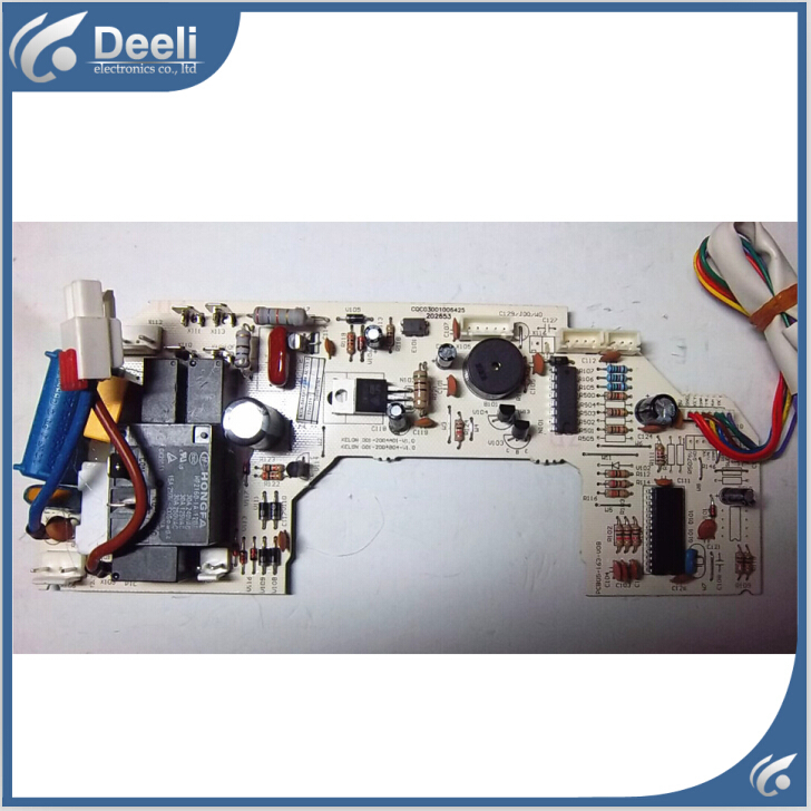 95% new good working for air conditioning PCB05-163-V08 power supply board motherboard 95% new for air conditioning motherboard pc board pcb05 351 v05 display panel pcb05 314 v05 board good