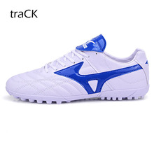 High Quality Football Shoes Men Outdoor Professional Football Training font b Soccer b font Shoes Brand