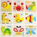 Новый 3D Головоломки, Детские Игрушки Животных Деревянные Головоломки Детские Образовательные Игрушки Игры Картина Головоломки Игрушки Для Детей Подарков Juguetes
