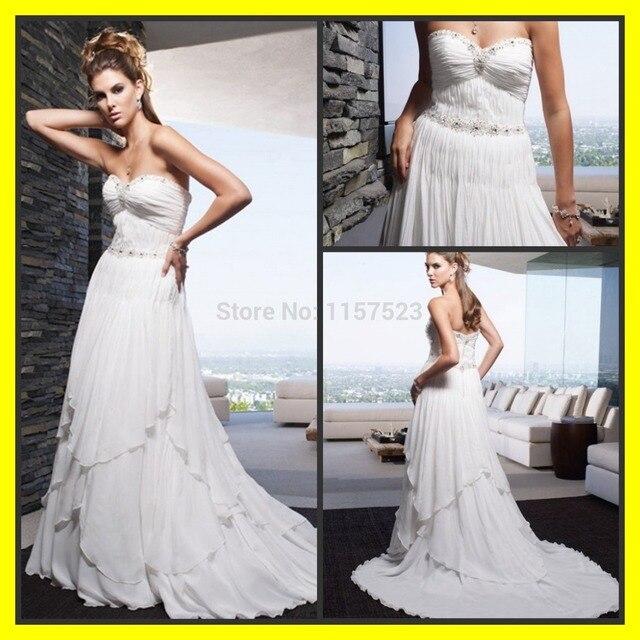 Casual Plus Size Wedding Dresses Ball Gown Cheap Beach Short Women