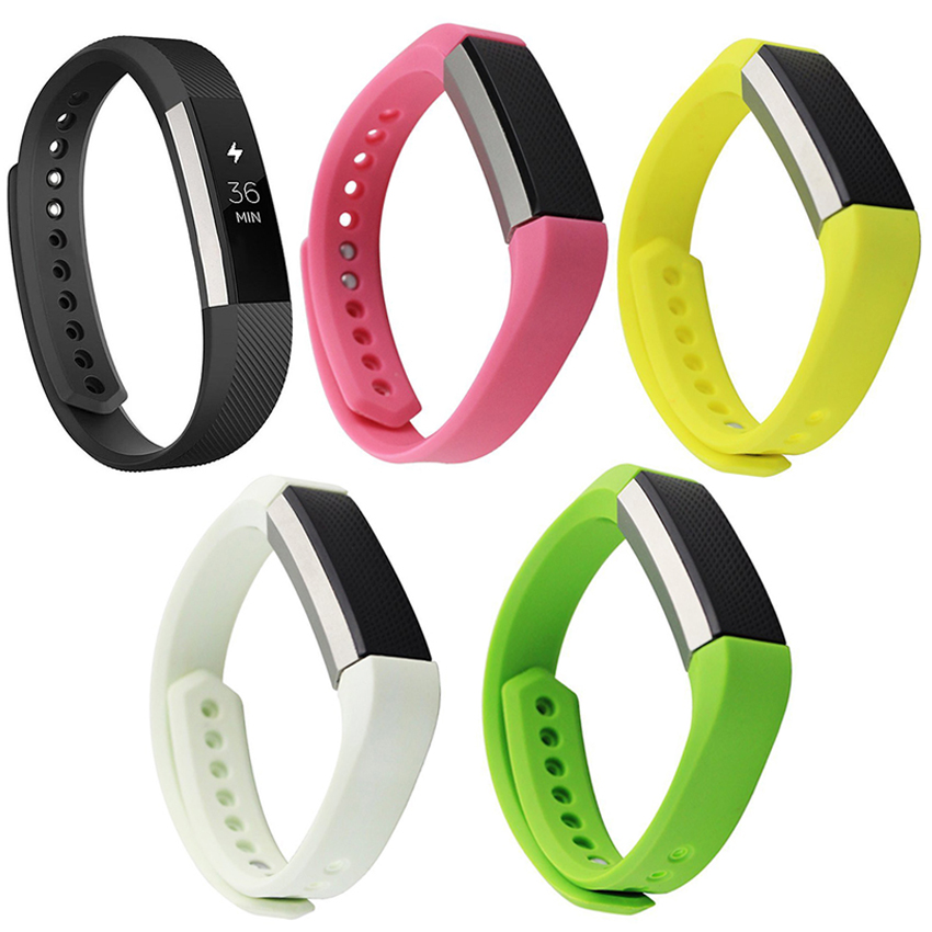 High Quality Silicone Watchband Replacement Smart Bracelet Silicone Wrist Band Strap For Fitbit Alta HR Smart Wristband Watch