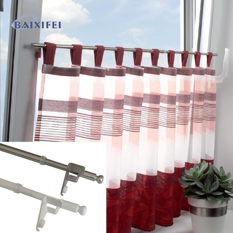 D8/10mm tensão cafe haste kugel, cortina acessórios haste para decoração de janela