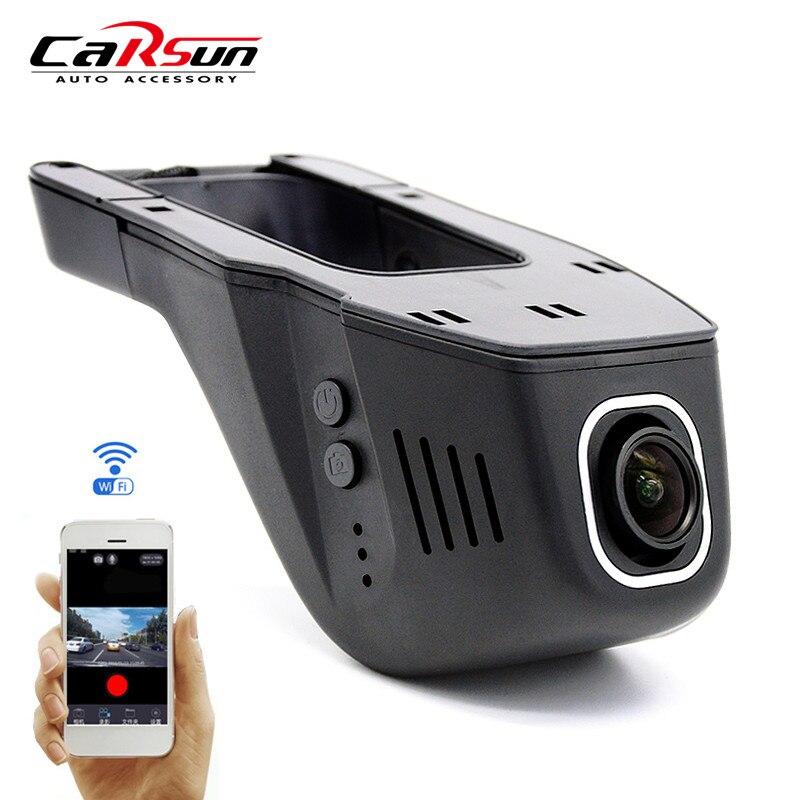 imágenes para Nueva Original Novatek 96658 Coches DVR Cámara Full HD 1080 P + Super Night Vision Wifi Oculta Grabadora de Vídeo Auto Dash Cam Negro caja
