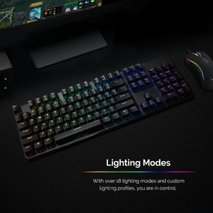 Image 5 - TECWARE Phantom 104 Mechanical Keyboard, RGB LED, Outemu Blue Switch,Extra Switches Provided, Excellent for Gamers
