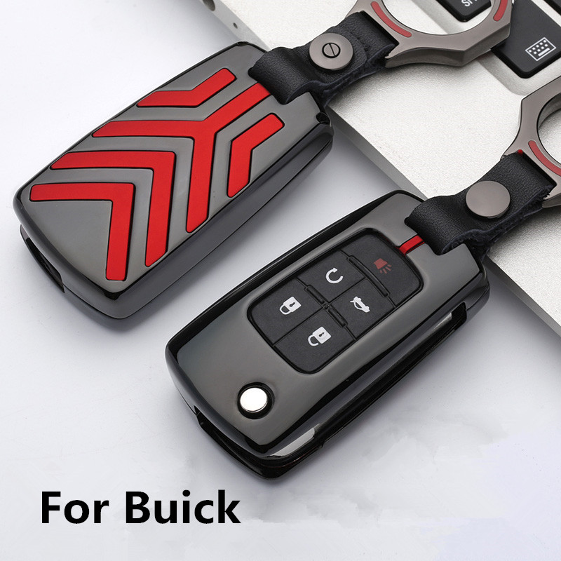 Zinc alloy Car Key Holder Cover Case For Buick Chevrolet Cruze Aveo TRAX Opel Vauxhall Astra J Corsa Meriva Zafira Antara Mokka