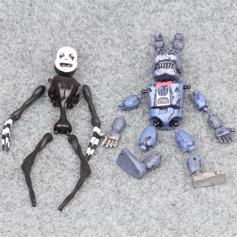 Image 5 - 6pcs/set At Freddy's Five Nights PVC Action figure 17cm Bonnie Foxy Freddy toys 5 Fazbear Bear Doll baby toys for Christmas gift-in Action & Toy Figures from Toys & Hobbies