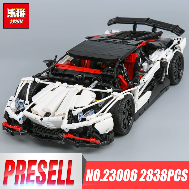 IN STOCK Lepin 23006 legoing Technic Series The Hatchback Type R Set Building Blocks Bricks Educational Toys Boy Gifts Model in stock lepin 23015 485pcs science and technology education toys educational building blocks set classic pegasus toys gifts