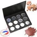 Alta qualidade 12 PCS 26mm Magnético Vazio Sombra de Alumínio Pans Com Paleta de Corretivo Maquiagem Ferramentas Cosméticos DIY Box