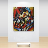 World famous paintings Picasso painting Picasso's abstract painting Picasso abstract woman Hand painting wholesale