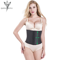 Slimming Sheath Waist Trainer Corsets And Bustiers Latex Cincher Corset Underbust Modeling Strap Girdles Rubber Shapewear