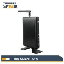 Новые дешевые WI-FI Тонкий клиент PC Share коробке X1W Все победитель A20 HDMI VGA 512 М Оперативная память 2 г flash Linux 3.4 встроенный rdp 7 Протокол