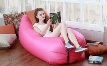 Creative Lazy Inflatable Beanbag Sofa Chair Living Room Bean Bag Cushion Camping Hangout Beach Bag Garden Sofa Outdoor Furniture