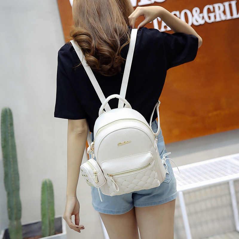 Лето 2017 г. Новый Винтаж Ретро Леди PU кожаная сумка маленькая Для женщин мини-рюкзак Mochila Feminina Школьные ранцы для подростков Bolsa