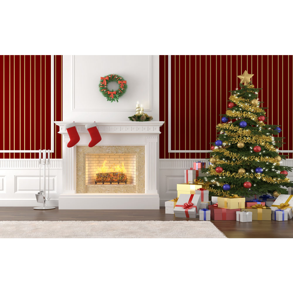 White house christmas ornament free shipping - 2017 Fast Shipping 8x5ft Wide Vinyl Backdrop Photography Backgrounds Vintage Christmas Backdrop Customized Size Is Offered P0686