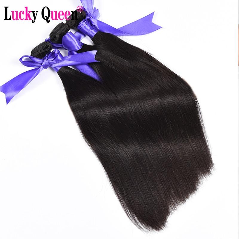 Lucky Queen Προϊόντα για τα μαλλιά Pruvian - Ανθρώπινα μαλλιά (για μαύρο) - Φωτογραφία 2