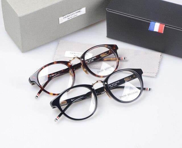 4e683390504 2016 New York Brand Eyeglasses Frames glasses men and women THOM TB008 Fashion  Glasses Computer Optical