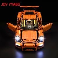JOY MAGS Led Light Kit For Technic Porsche 911 GT3 RS Building Blocks Light Set Compatible