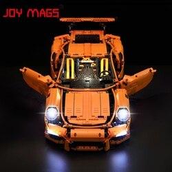 JOIE MAGS Led Lumière Kit Pour Technique Porsche 911 GT3 RS Blocs de Construction Légers Ensemble Compatible Avec 42056/20001/3368/3368B/3368C