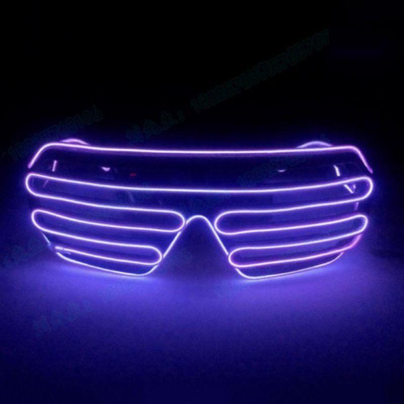 Glow Light Up LED Sunglasses Flashing Christmas Halloween Rave Party Decor HOT