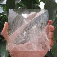 Hot Sale ! 520~800g 90*90 & 95*95mm Large Natural Rock Clear Quartz Crystal Pyramid Reiki Healing cristal Energy Pyramid 2020